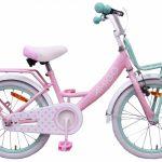 AMIGO Dots 18 Inch 30 cm Meisjes Terugtraprem Roze