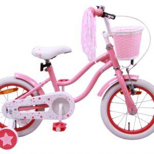 AMIGO Superstar 14 Inch 21 cm Meisjes Terugtraprem Roze