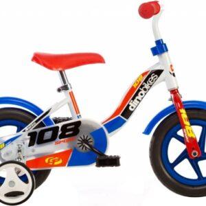 Dino 108 Sport 10 Inch 17 cm Jongens Doortrapper Wit