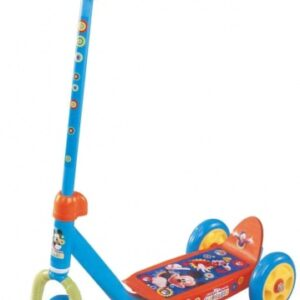Disney Mickey Mouse 3-wiel kinderstep Junior Blauw/Geel