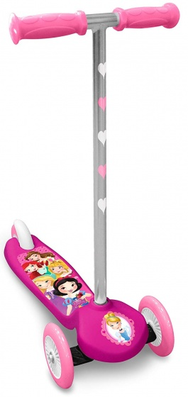Disney Princess 3-wiel kinderstep Meisjes Voetrem Roze