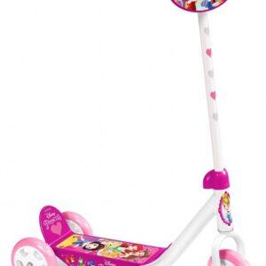 Disney Princess 3-wiel kinderstep Meisjes Wit/Roze