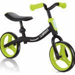 Globber Go Bike loopfiets 10 Inch Junior Zwart/Groen