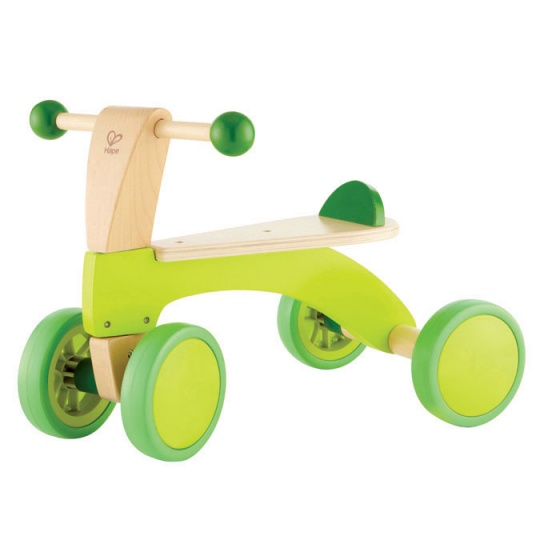 Hape Scoot-Around Junior Groen