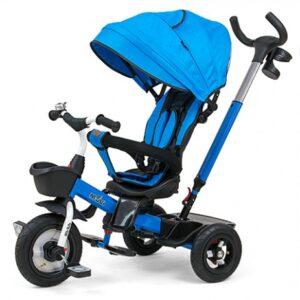 Milly Mally Movi driewieler Junior Blauw