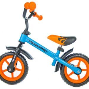Milly Mally loopfiets Dragon Junior Oranje/Blauw