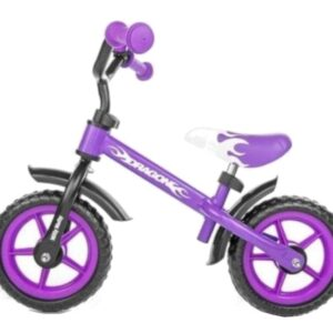 Milly Mally loopfiets Dragon Junior Violet