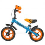 Milly Mally loopfiets Dragon met rem 10 Inch Junior Blauw/Oranje