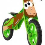 Milly Mally loopfiets Duplo Aap 12 Inch Junior Groen