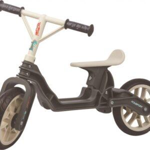 Polisport Balanca Bike loopfiets 10 Inch Junior Donkergrijs/Crème