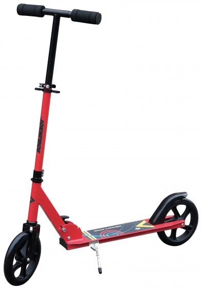 "Schildkröt Funsports Cityscooter "" Road Catcher"" Junior Voetrem Rood"