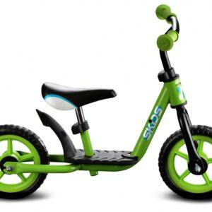 Skids Control loopfiets 10 Inch Junior Groen/Zwart