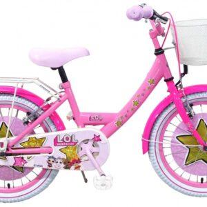 Volare LOL Surprise 18 Inch 28 cm Meisjes Knijprem Roze