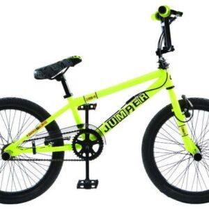 Winner BMX fiets 20 Inch 44 cm Unisex V-Brake Geel