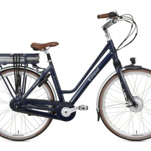 Popal E Volution 8.3 28 Inch 50 cm Dames 8V Rollerbrake Donkerblauw