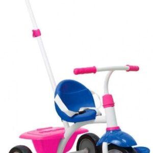 smarTrike Fun Meisjes Blauw/Roze