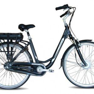 Vogue Basic 28 Inch 49 cm Dames 3V Rollerbrake Zwart