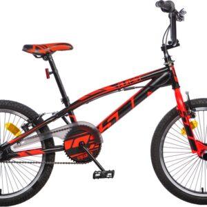 Aurelia BMX fiets 20 Inch 47 cm Unisex V-Brake Zwart/Rood