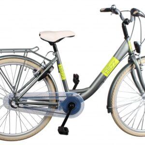 Bike Fun Blizz 26 Inch 43 cm Meisjes 3V V-Brake Matgroen