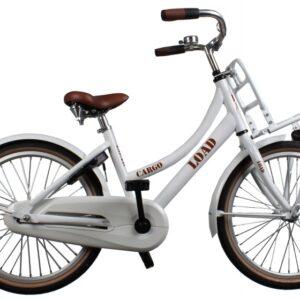 Bike Fun Cargo Load 20 Inch 33 cm Meisjes Terugtraprem Wit