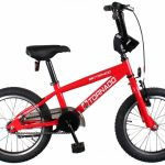 Bike Fun Cross Tornado 16 Inch 34 cm Junior Terugtraprem Rood
