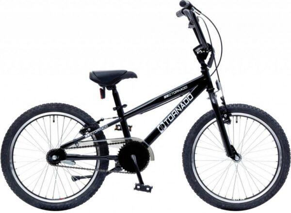 Bike Fun Cross Tornado 20 Inch 40 cm Junior Terugtraprem Zwart