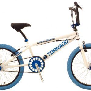 Bike Fun Tornado 20 Inch 55 cm Junior V-Brake Wit/Blauw