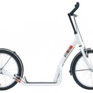 Bike Fun step 20 Inch Unisex V-Brake Wit/Zwart