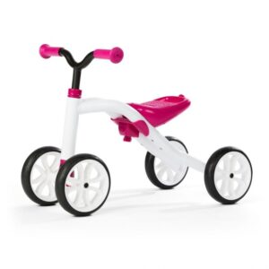 Chillafish Quadie loopfiets Junior Wit/Roze