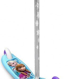 Disney Frozen 3-wiel kinderstep Meisjes Voetrem Blauw/Paars