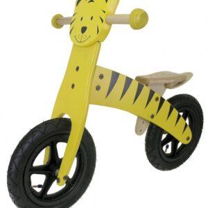 Kids Club Loopfiets Tijger 12 Inch Junior Geel