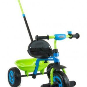 Milly Mally Turbo driewieler Junior Groen/Blauw