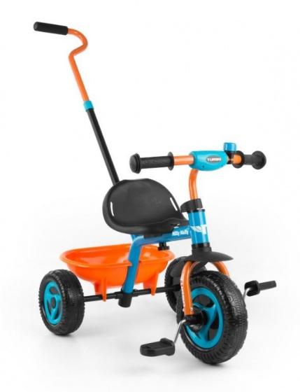 Milly Mally Turbo driewieler Junior Oranje/Blauw
