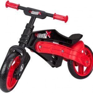 Nijdam Loopfiets verstelbaar N Rider 10 Inch Junior Zwart