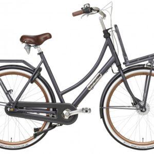 Popal Daily Dutch Prestige 28 Inch 50 cm Dames 7V Rollerbrake Petrol Blauw