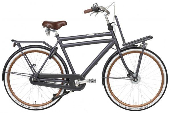 Popal Daily Dutch Prestige 28 Inch 50 cm Heren 7V Rollerbrake Petrol Blauw