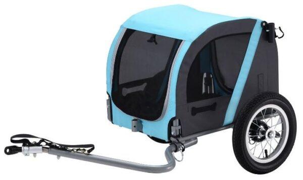 Vantly hondenfietskar 20 Inch Unisex Lichtblauw/Antraciet