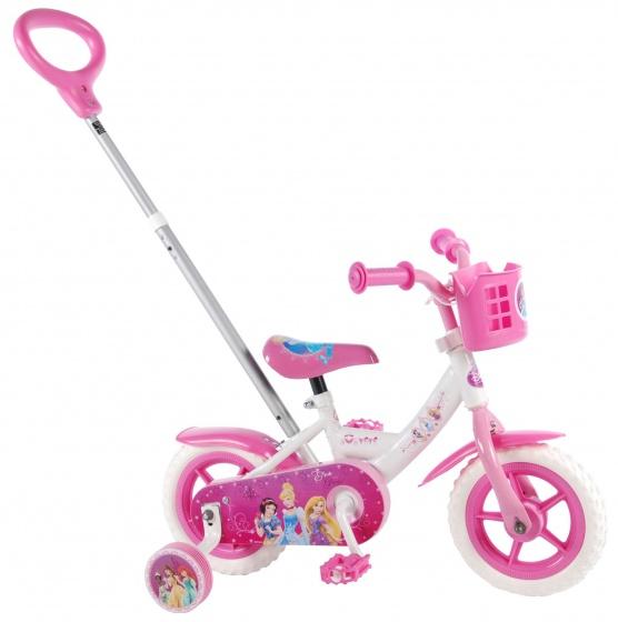 Volare Disney Princess 10 Inch 18 cm Meisjes Doortrapper Wit/Roze