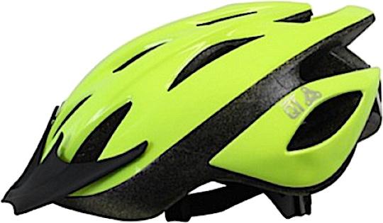 Cycle Tech fietshelm Fluo Pearl groen maat 54/58 cm