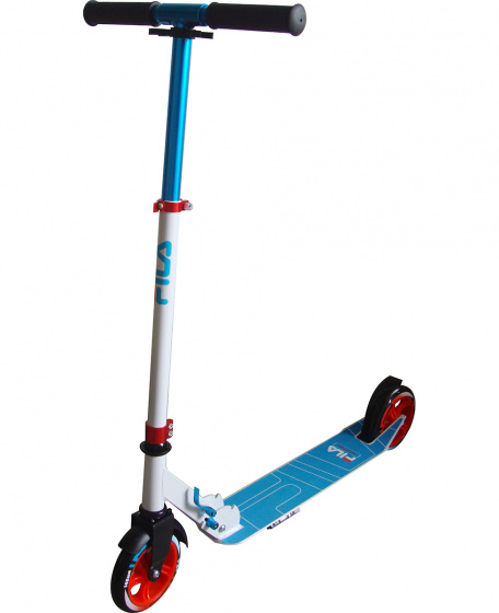 Fila Scooter 145-F Junior Voetrem Blauw/Wit