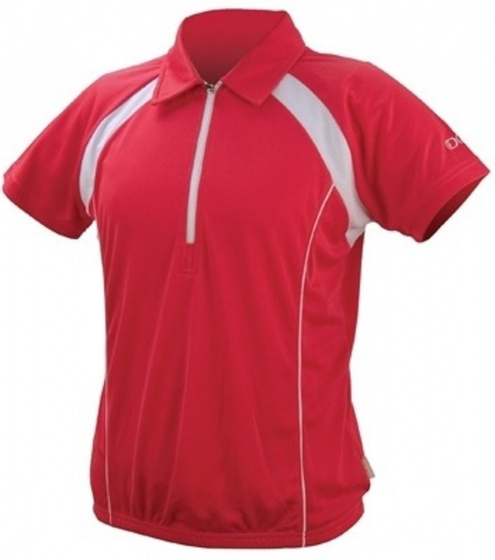 IXS Fietsshirt Tela Basic-Pro dames rood maat XS