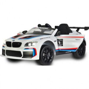 Jamara ride-on BMW M6 GT3 Junior Wit/Zwart