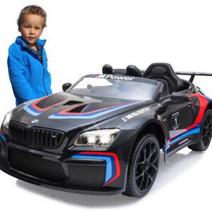 Jamara ride-on BMW M6 GT3 Junior Zwart/Rood