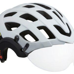 Lazer fietshelm Anverz NTA vizier e-bike unisex wit mt 52-56