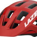 Lazer fietshelm Coyote unisex rood/zwart maat 55-59 cm