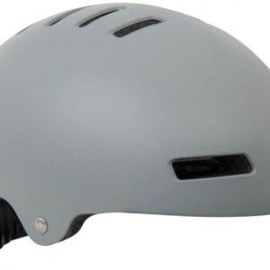 Lazer fietshelm One+ BMX unisex grijs maat 55-59 cm