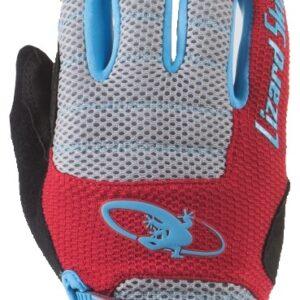 Lizard Skins fietshandschoenen Monitor AM rood/grijs mt 8