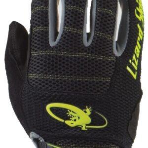 Lizard Skins fietshandschoenen Monitor AM zwart/geel mt 8