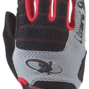 Lizard Skins fietshandschoenen Monitor AM zwart/grijs mt 7
