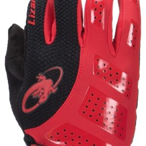 Lizard Skins fietshandschoenen Monitor SL Gel zwart/rood mt 12